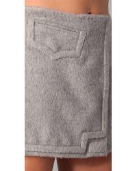 Hakaan | Gray Sicilia Skirt | Lyst