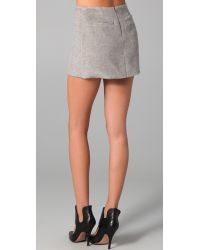 Hakaan - Gray Sicilia Skirt - Lyst