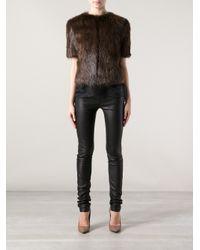 Jo No Fui - Brown Beaver Fur Jacket - Lyst