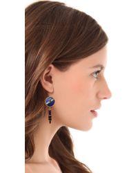 Kelly Wearstler - Metallic Ritzo Earrings - Lyst