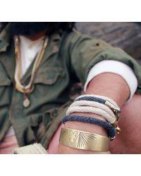 Lulu Frost | Brown George Frost Harpoon Bracelet | Lyst