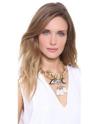 Lulu Frost - Metallic The Big Bang Necklace - Lyst