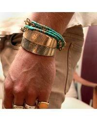 Lulu Frost - Blue George Frost Luck Morse Bracelet - Lyst