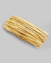 Marco Bicego - Metallic Cairo 18k Thirteen-strand Bracelet - Lyst