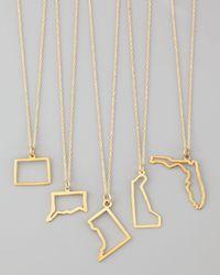 Maya Brenner Designs | Metallic 14k Gold Necklace | Lyst
