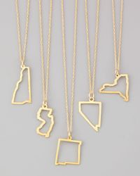 Maya Brenner Designs | Metallic Maya Brenner 14k Gold Necklace | Lyst