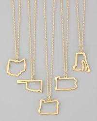 Maya Brenner Designs - Metallic Maya Brenner 14k Gold Necklace - Lyst