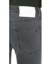 Surface To Air - Gray Regular Super Skinny Jeans - Lyst
