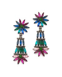 DANNIJO | Blue Lovisa Earrings | Lyst