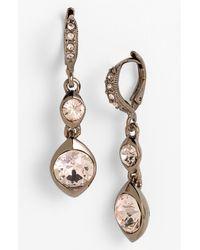 Givenchy | Metallic Drop Earrings | Lyst