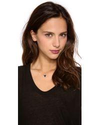 Gorjana - Black Knox Layer Necklace - Gold - Lyst