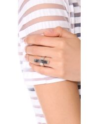 Kelly Wearstler | Gray Stone Rod Ring | Lyst