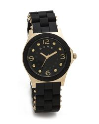 Marc By Marc Jacobs - Black Pelly Watch - Lyst