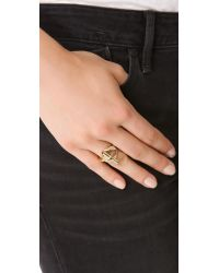 Marc By Marc Jacobs   Metallic Toggle Ring   Lyst