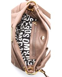 Marc By Marc Jacobs | Brown Classic Q Hillier Hobo | Lyst