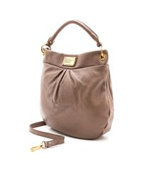 Marc By Marc Jacobs   Brown Classic Q Hillier Hobo   Lyst