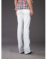 RED Valentino | White Straight Leg Jean | Lyst