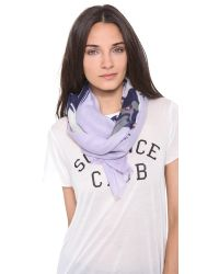 We Are Owls | Purple Stay Cashmere Scarf | Lyst