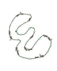 Wendy Yue - Blue Monkey Bead Necklace - Lyst