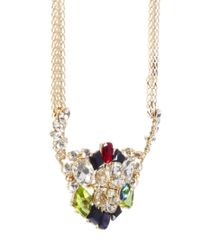 ASOS - Multicolor Premium Night Garden Necklace - Lyst