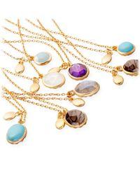 Astley Clarke - Metallic Turquoise Cadenza Pendant - Lyst