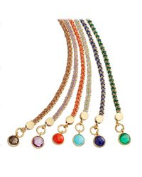 Astley Clarke | Gray 'woven Biography' Bracelet | Lyst