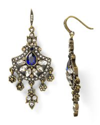 Carolee | Multicolor India Of Illusions Cluster Fan Earrings | Lyst