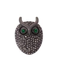 Hobbs | Gray Nw3 Sparkle Owl Brooch | Lyst