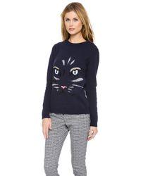 Paul & Joe - Blue Grominet Sweater - Lyst