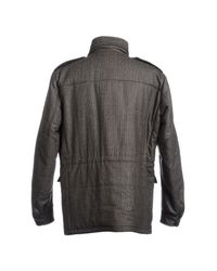 Prada | Gray Midlength Jacket for Men | Lyst
