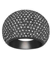 Swarovski   Black Stone Ring   Lyst