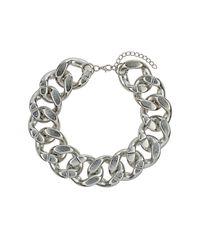 TOPSHOP | Metallic Oversized Chunky Chain | Lyst