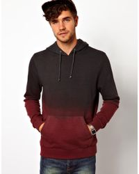 Seafolly - Red Hoodie With Dip Dye for Men - Lyst