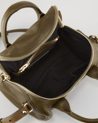 Alexander Wang | Brown Rockie Small Crossbody Satchel Bag Oliveyellow Golden | Lyst