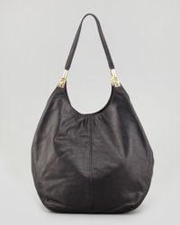 Elizabeth and James - Leather Shopper Tote Bag Black - Lyst