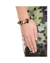 Erdem - Black Exclusive To Mytheresacom Goldplated Swarovski Crystal and Pearlembellished Bracelet - Lyst