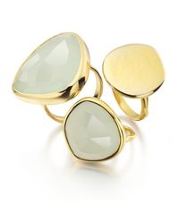 Monica Vinader - Blue Siren Cocktail Ring - Lyst