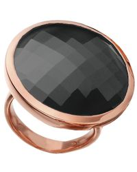 Monica Vinader - Pink Round Facet Ring - Lyst