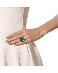 Monica Vinader - Green Baja Square Ring - Lyst