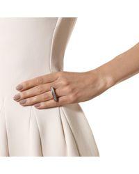 Monica Vinader - Gray Baja Long Ring - Lyst