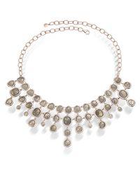 Monica Vinader | Gray Siren Bib Necklace | Lyst