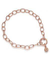 Monica Vinader - Metallic Lungo Chain Bracelet - Lyst