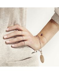 Monica Vinader | Metallic Lungo Chain Bracelet | Lyst