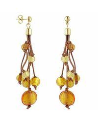 Antica Murrina | Metallic Cancun Murano Glass Beads Drop Earrings | Lyst
