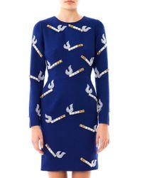 House of Holland | Blue Cigarette embellished Dress | Lyst