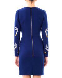House of Holland   Blue Cigarette embellished Dress   Lyst
