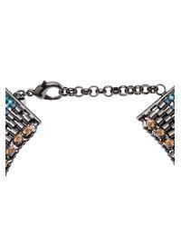 Iosselliani - Blue Large Bib Necklace - Lyst