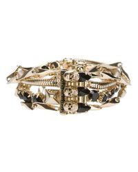 Iosselliani - Metallic Multichain Bracelet - Lyst