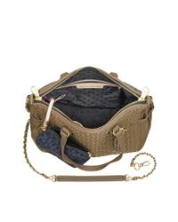 Juicy Couture - Brown Lauryn Nylon and Leather Quilted Venice Tote - Lyst