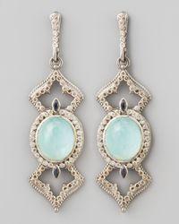 Armenta - Metallic New World Elongated Diamond & _ Earrings - Lyst